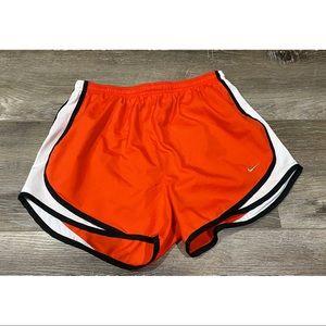 Nike Tempo Shorts: Orange, Size Medium